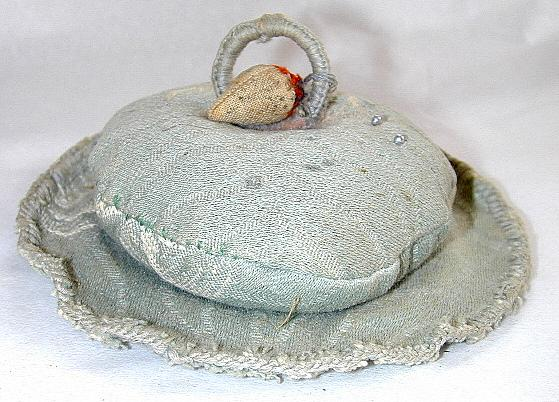 1930s Pincushion & Strawberry Emery - Free Shipping!