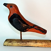 Early 20th century Folk Art Bird
