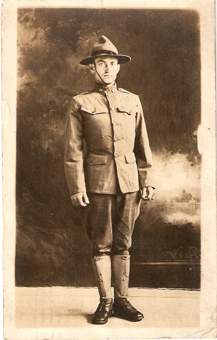 World War I Real Photo Post Card – Soldier