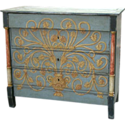 Superbly painted Commode (Chest of Drawers) from Spain