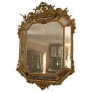 Fabulous 'Cushion' Mirror from France