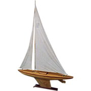 19thC  Pond Yacht Sailer from Scotland