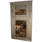 French 'Trumeau'  Mirror