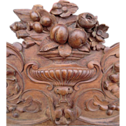 Carved Pediment from Italy