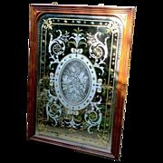 Victorian 'Gin Palace' Mirror