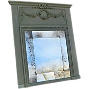 French 'Trumeau' Overmantel Mirror