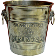 Rare Champagne Bucket from France.