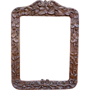 19thC. Handcarved Frame from France