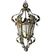 Delicate 6-Sided Metal Lantern