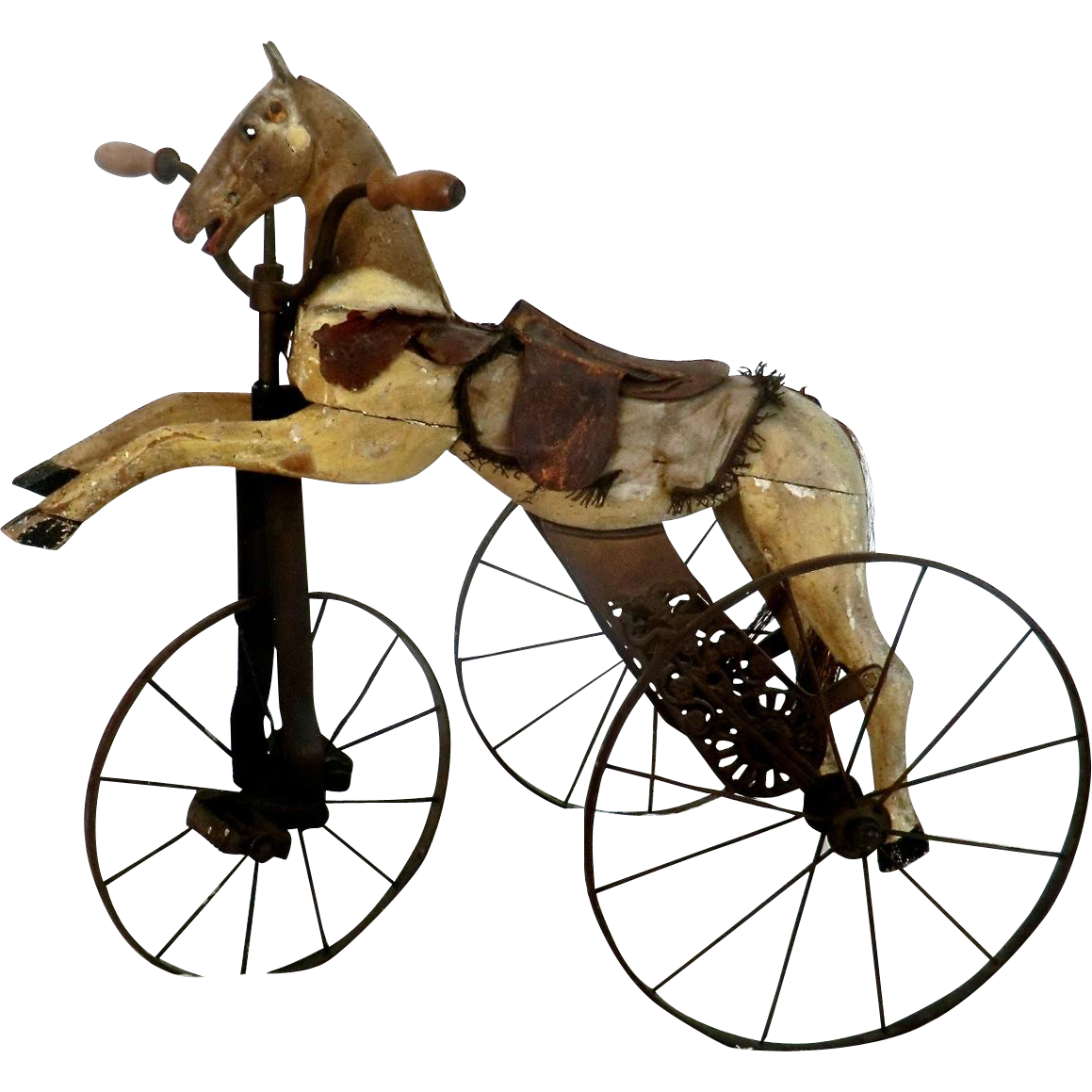19th C. Child's Horse Tricycle from France