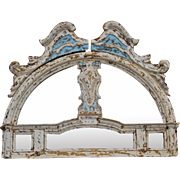 Mirrored Entryway Pediment from Florence, Italy.