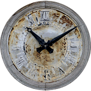Church Steeple Clock Face from Normandy