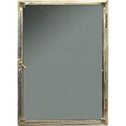 Fine Quality Silver Plated Wall Showcase