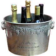 Extra Large Champagne Ice Bucket for 5 Bottles