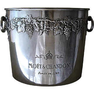 Rare 5-Bottle  Champagne Ice Bucket