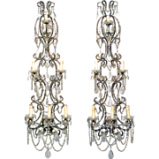 Pair of Wall Candelabra from Italy
