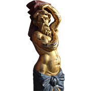 Fabulous Neptune Marine Carved Figure