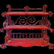 Decorative 'Spiceshop' Shelfrack from Holland.