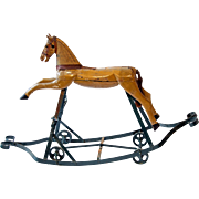 Child's Rocking Horse from France