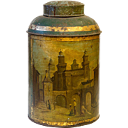 Historic Victorian Tea Canister