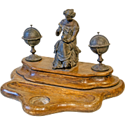 Decorative 19th Century Inkstand from France.
