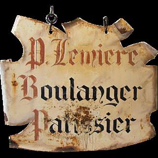 French 'Boulangerie' Shopfront Hanging Sign