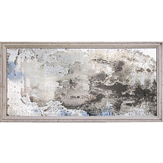 19th Century Mirror with 'Decadent' Silvering