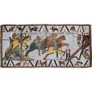Vintage Woven 'Bayeux' Tapestry.