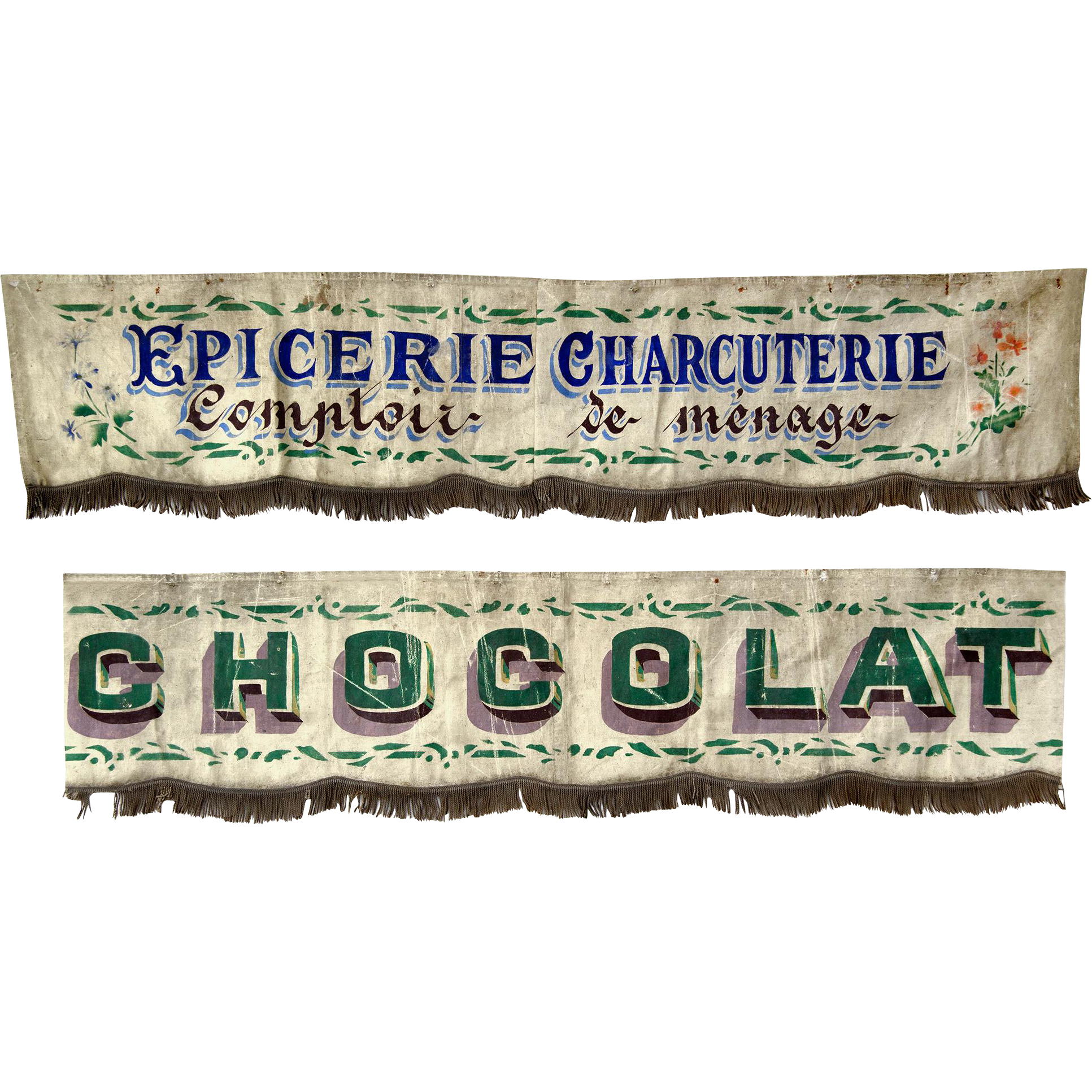 Vintage Awnings From A French Shopfront From Relic On
