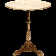 Original French Café Table
