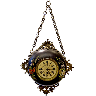 Wall Hanging 'Baker's' Clock from France