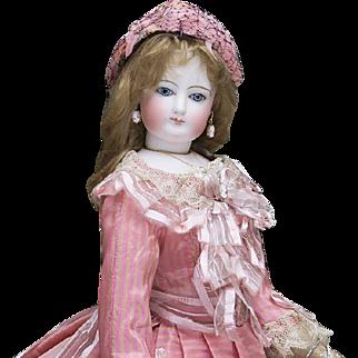 "17 1/2"" (46 cm) Antique French Fashion Francois Gaultier doll, c.1870"