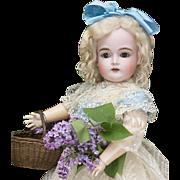 """20"""" (52 cm.) Antique German All-Original German Bisque Child Doll, 167, by Kestner"""