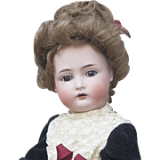 "20"" (51cm) Antique German Bisque Child doll, 403, by Kammer and Reinhardt with Original Dress, in excellent condition!"