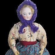 "12"" (30cm) Antique French All original Small Fashion Doll by Gaultier FG"