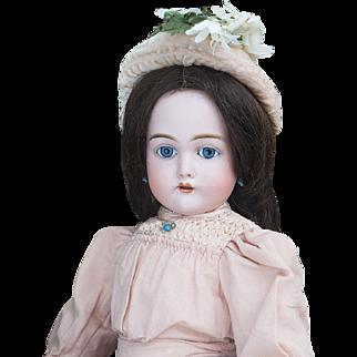 "25"" (64cm) Antique German Bisque Child Doll, 192, by Kammer and Reinhardt in Original Dress, excellent condition"