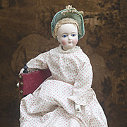 17in (43cm) Antique French Fashion Doll, as is!