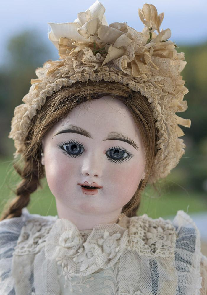24 Very Beautiful French Bisque Eden Bebe Doll By