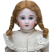 "21"" Antique French Bisque Bebe DOll by SFBJ /Jumeau Paris 8, Beautifully dressed!"