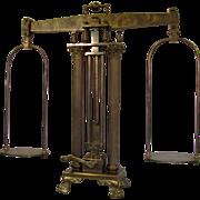 Rare Henry Troemner Gold  Standard Bronze Scale