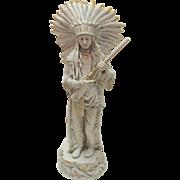 Royal Dux Porcelain  Indian Chief