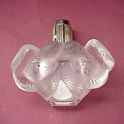 "Rare Nina Ricci  ""L'Air du Temps""  Perfume Atomizer with Bottle by Lalique - Circa 1955"