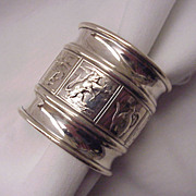 Gorham Sterling Baby / Child's Napkin Ring # 375 - Circa 1900