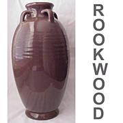 Hand Thrown Rookwood Pottery Floor Vase Dated 1917