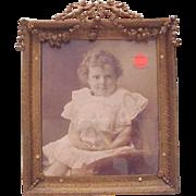 Dore Bronze Photo Frame - Circa 1900