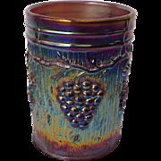 Dugan Vineyard Carnival Glass Tumbler - Circa 1915