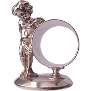 James W. Tufts Quadruple Plate Figural Napkin Ring - Circa 1885