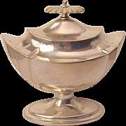 English Sterling Tea Caddy - London 1905
