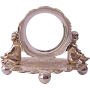 Wilcox Silverplate Co. Quadruple Plate Figural Napkin Ring - Circa 1885