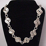 William Spratling Silver Necklace - Circa 1942